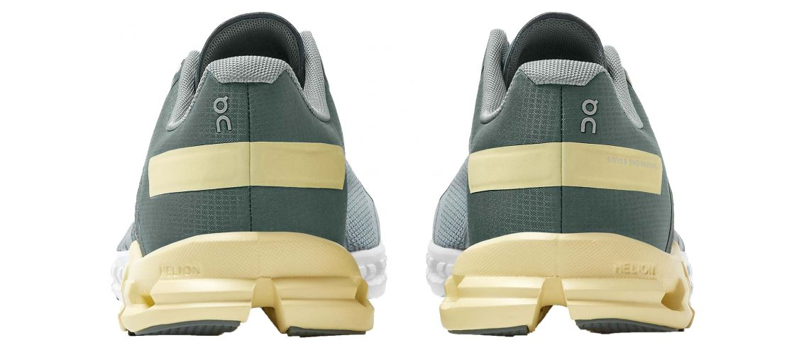 Cloudflow Running Shoes ON Woman Sea/Limelight