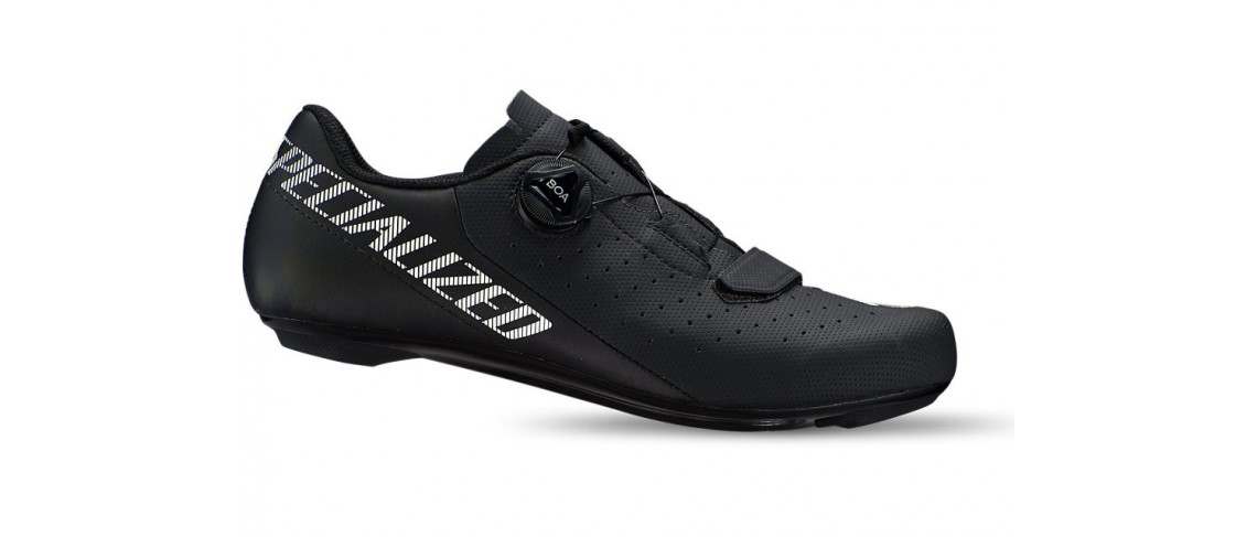 Torch 1.0 Road Shoe Specialized Black Logo White