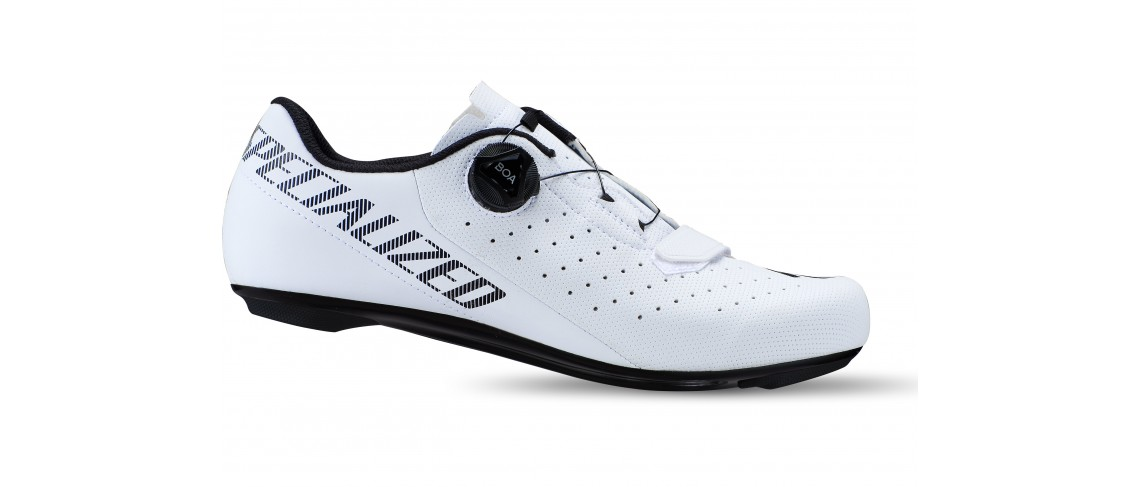 Torch 1.0 Road Shoe Specialized White Logo Black