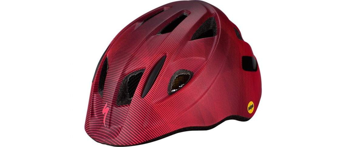 Mio Cycling Helmet Specialized Child Mips Cast Berry/Acid Pink Refraction