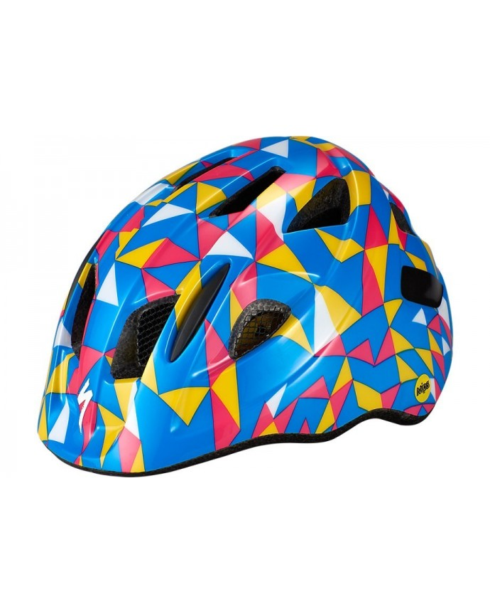 Mio Cycling Helmet Specialized Child Mips Pro Blue/Golden Yellow Geo