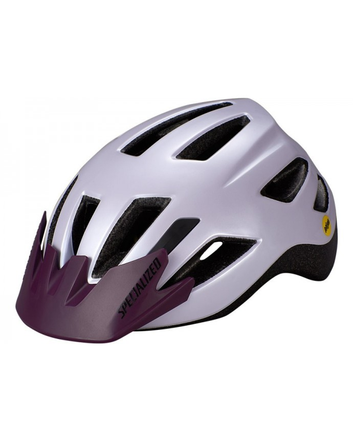 Shuffle Led Sb Cycling Helmet Mips Specialized Child UV Lilac/Cast Berry