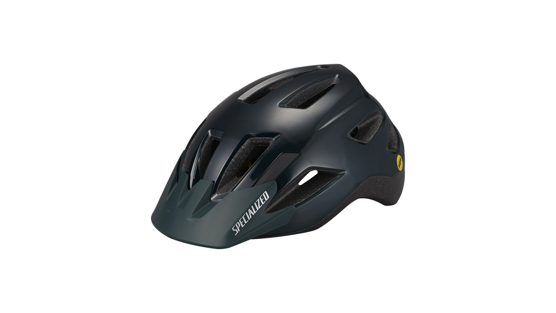 Shuffle Led Sb Helmet Mips Ce Specialized Child Gloss Forest Green/ Oasis