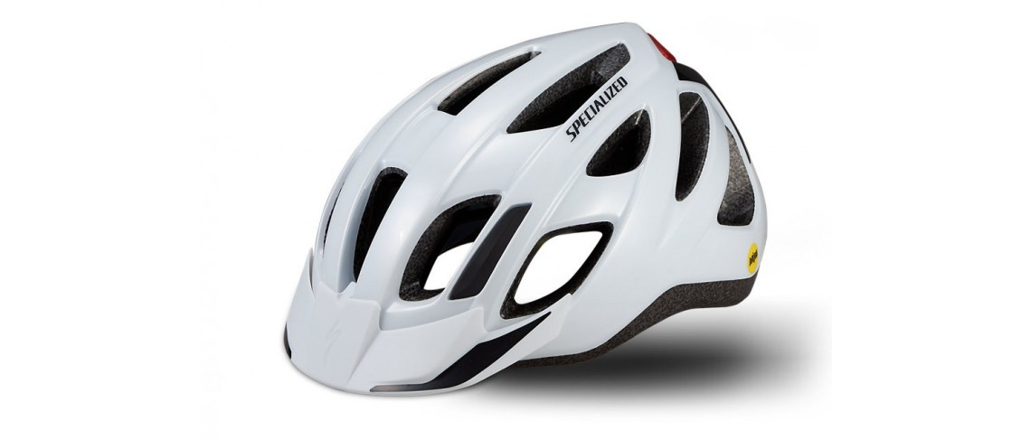 Centro Led Helmet MTB Mips Specialized Gloss White