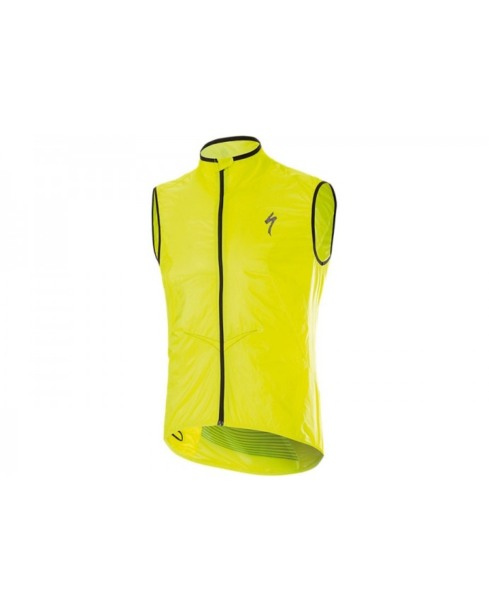 Deflect Comp Wind Jacket Specialized Neon Yellow