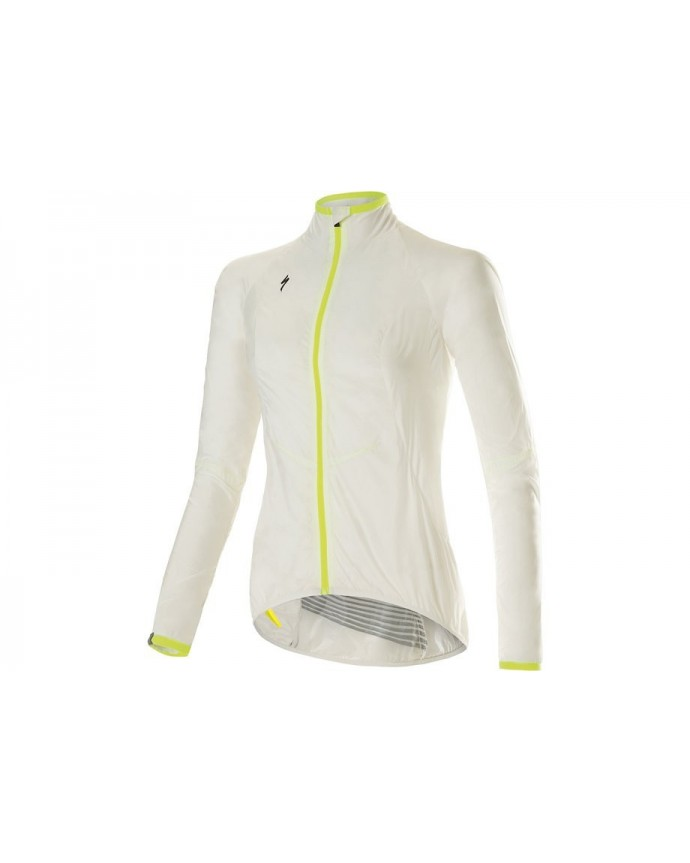 Deflect Comp Win Jacket Specialized Woman White