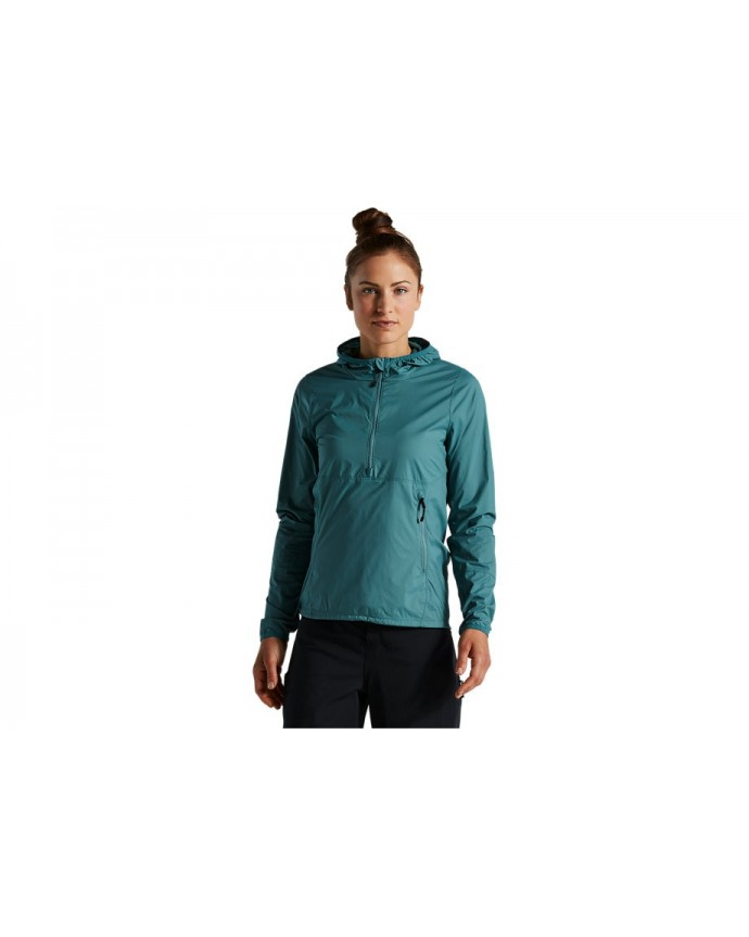 Trail-Series Win Jacket Specialized Woman Dusty Turquoise