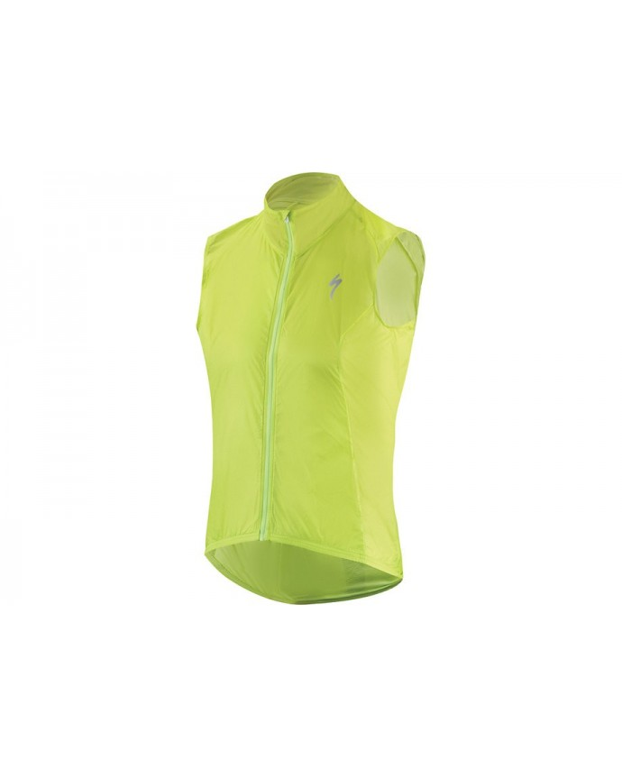 Deflect Comp Wind Vest Specialized Hyper Green