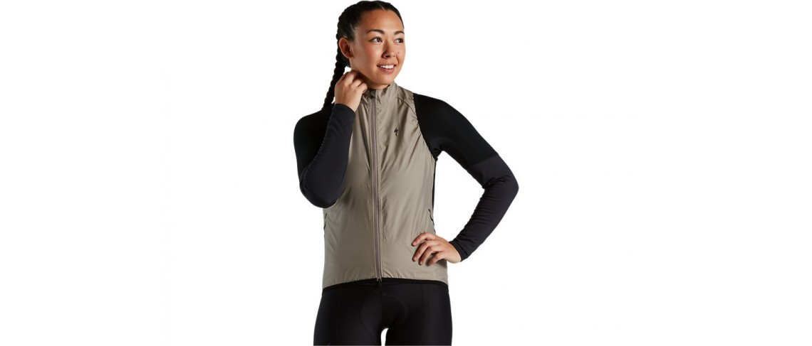 Race-Series Win Vest Specialized Woman Taupe