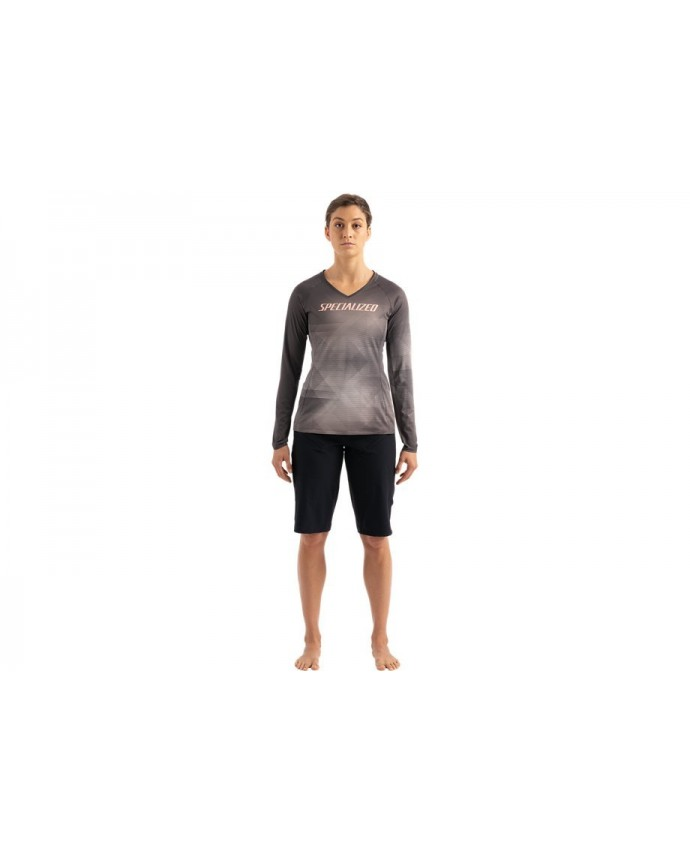 Andorra Air Jersey Specialized Woman Slate / White Mountains Refraction