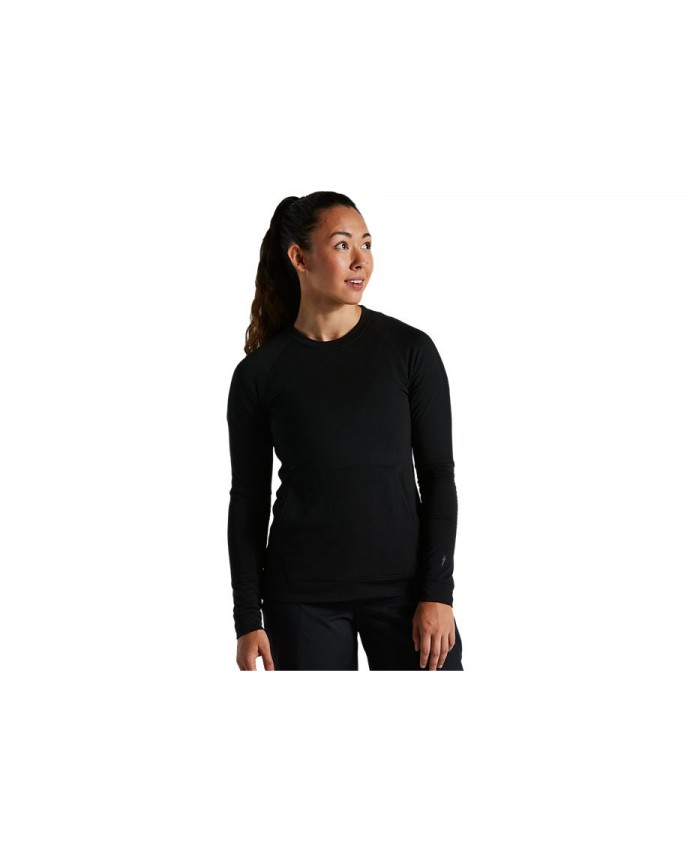 Trail-series Thermal Jersey Ls Specialized Woman Black