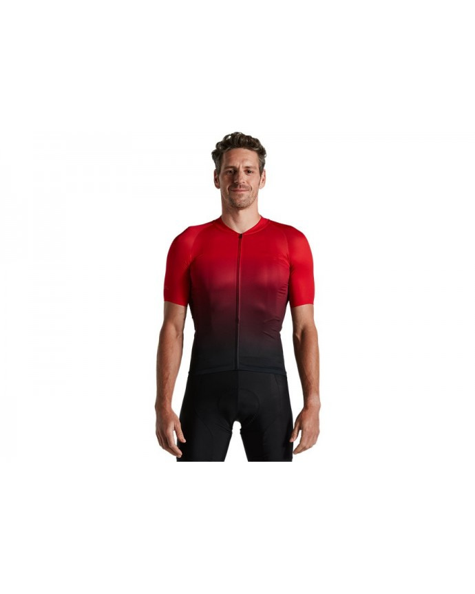 SL Air Jersey SS Sagan Decon Specialized Red/ Black Fade