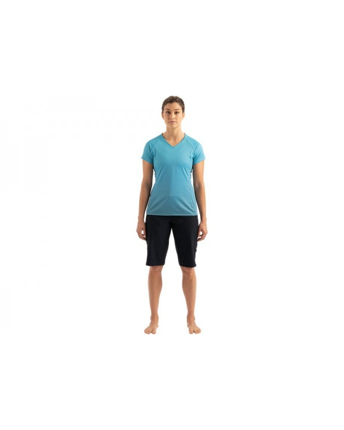 Andorra Air Jersey Specialized Woman Aqua / Dusty Turquoise Fade