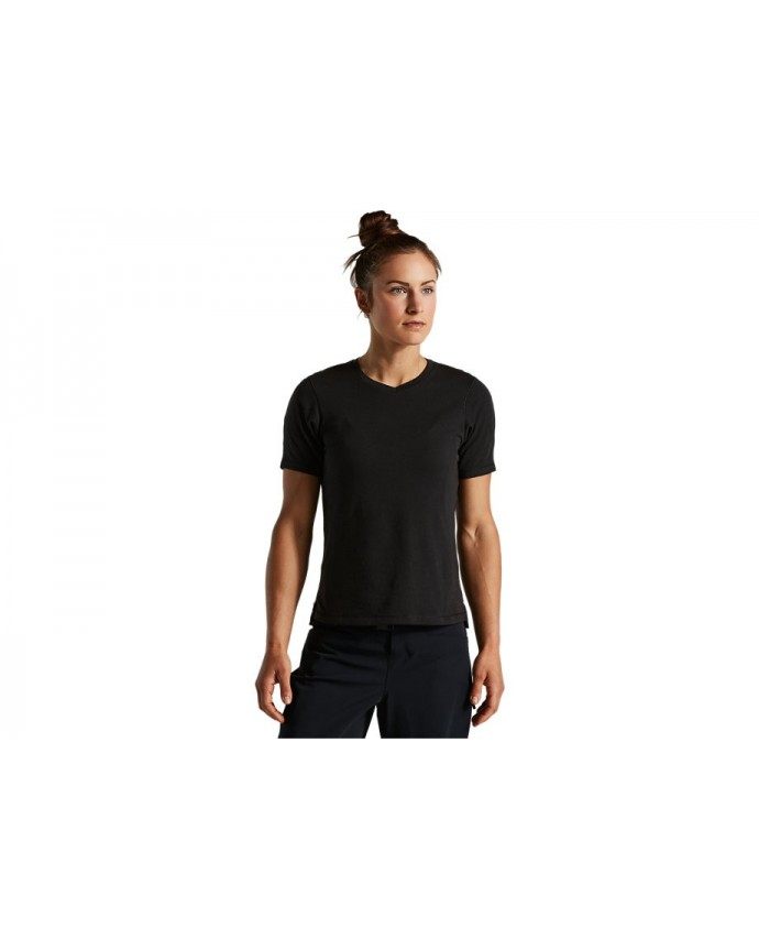 Trail-Series Mineral Wash Jersey SS Specialized Woman Black