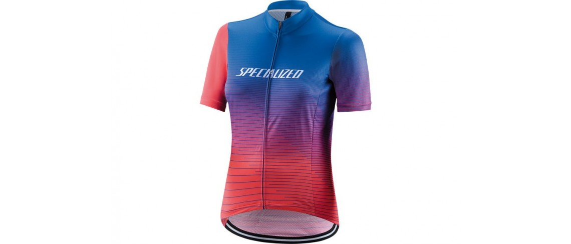Rbx Comp Logo Team Jersey SS Specialized Woman Pro Blue/Acid Pink