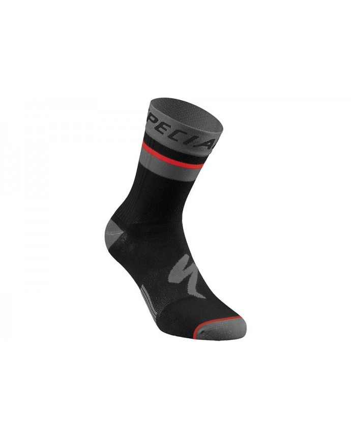 Rbx Comp Logo Summer Sock Specialized Black/Anthracite S