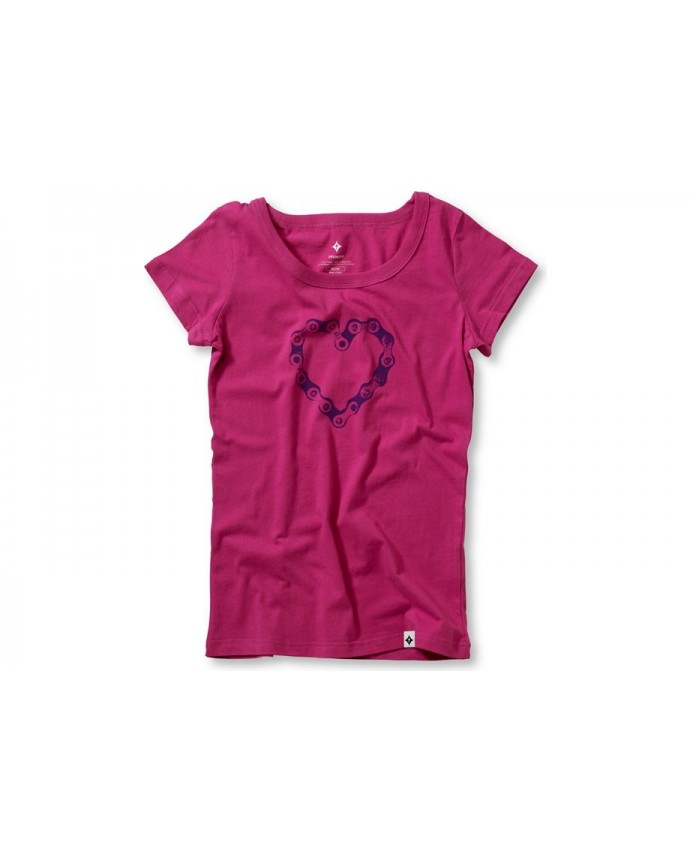 Chain Luv T-Shirt Specialized Woman Pink/Purple