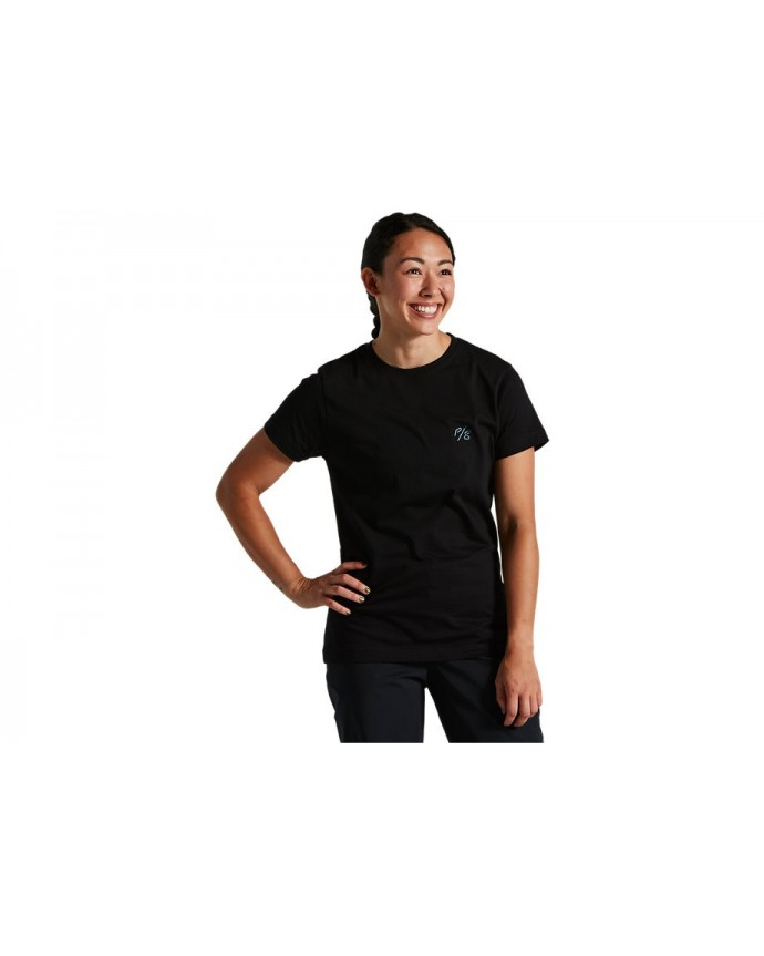 Sagan Decon SS T-Shirt Specialized Woman Black/ Red