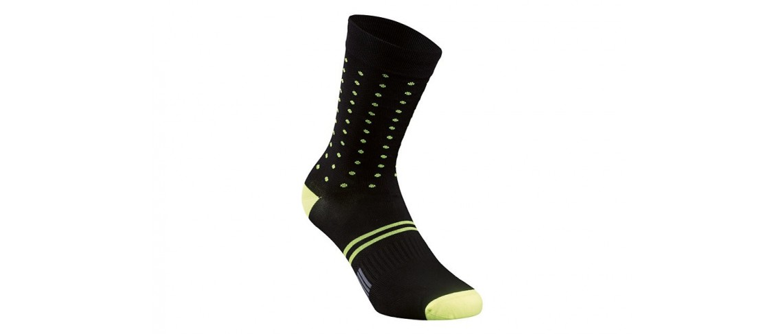 Dots Sock Specialized Black/Neon Yellow