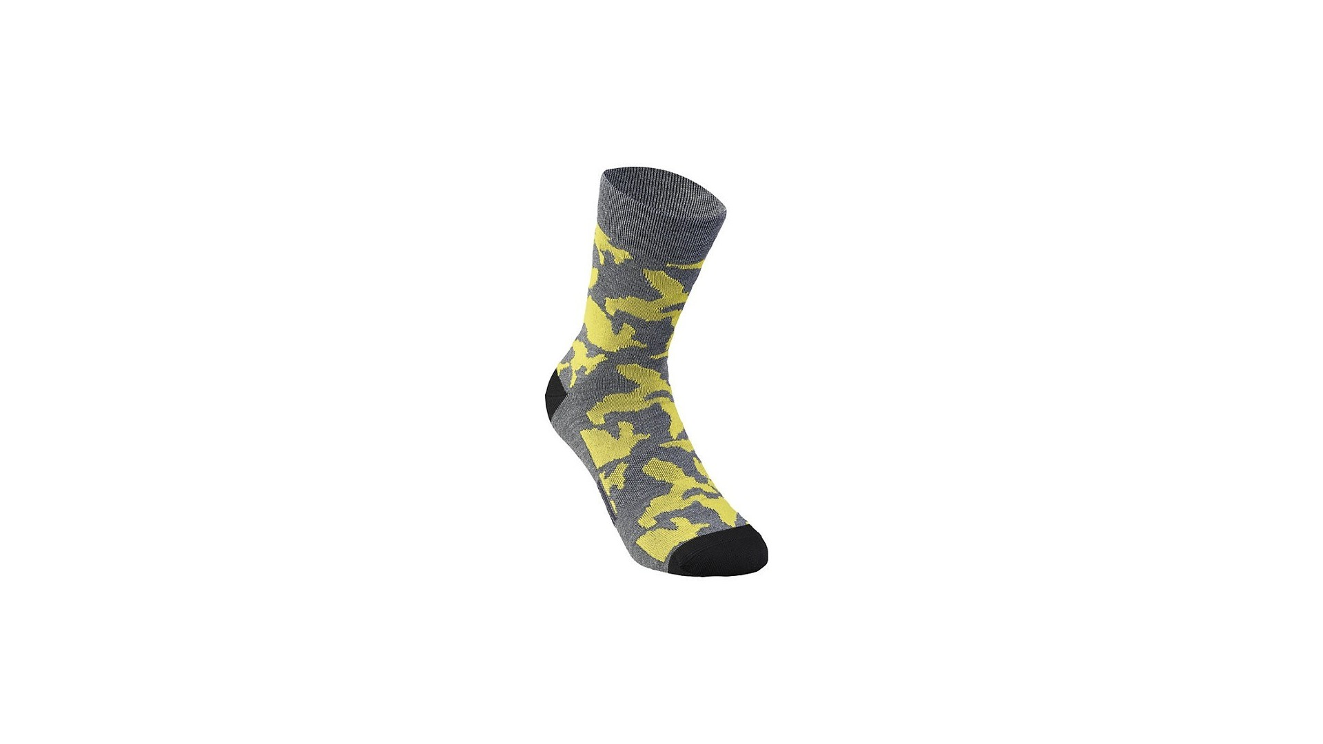 Camo Sock Specialized Anthracite/Ion Yellow Camo