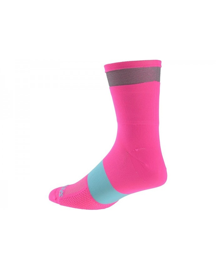 Reflect Tall Socks Specialized Neon Pink