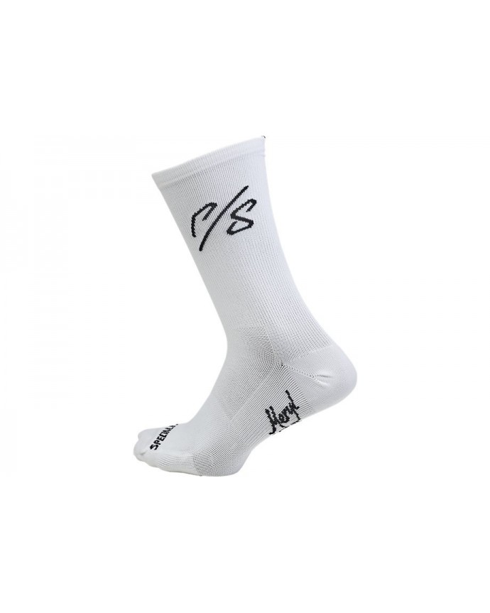 Road Tall Sock Sagan Collections Specialized White Overexposed