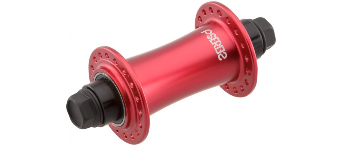 P.Hub Front Female 36H Specialized Red/Anodized