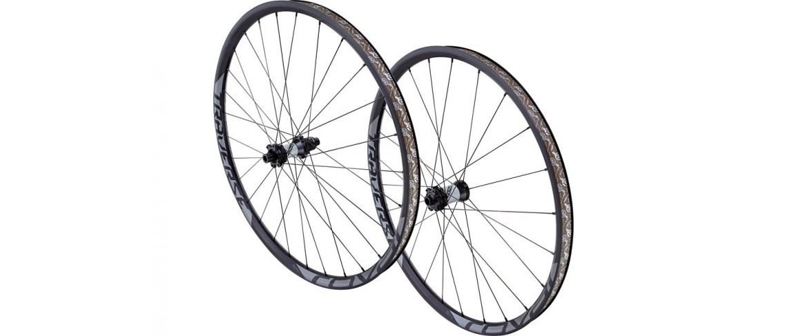 Traverse 650B 148 Wheelset Roval Charcoal Decal