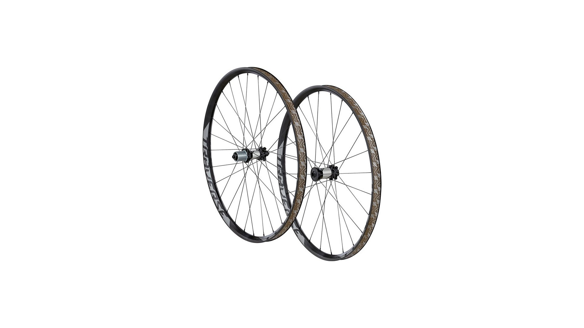 Traverse 650B Wheelset Roval Charcoal Decal