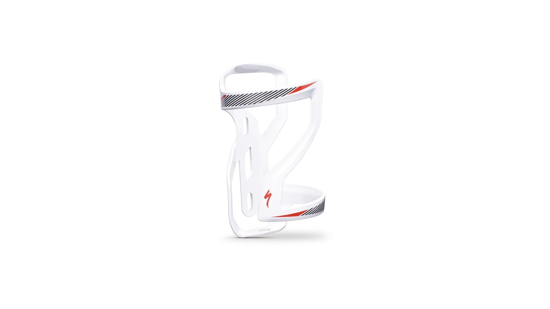 Zee Cage II Side Loading Right DT Specialized White/Black/Red
