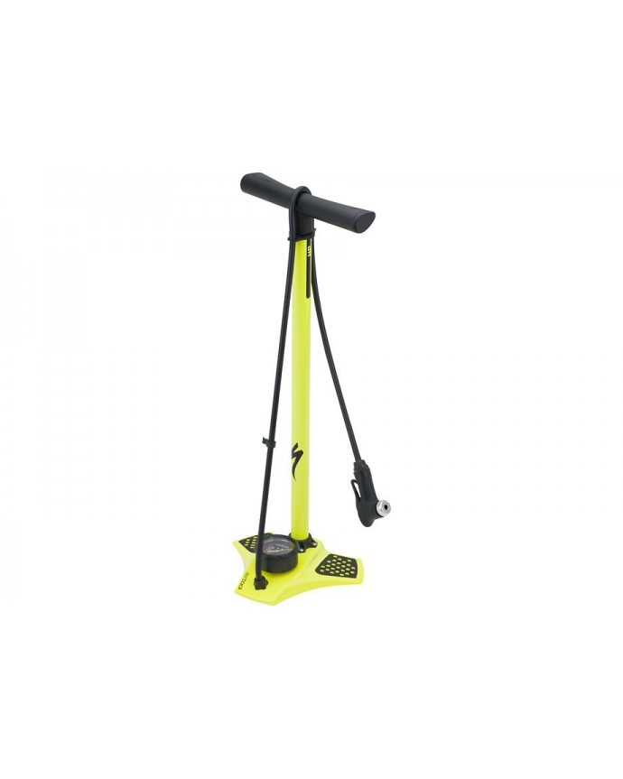 Air Tool HP Floor Pump Ion Specialized Neon Yellow