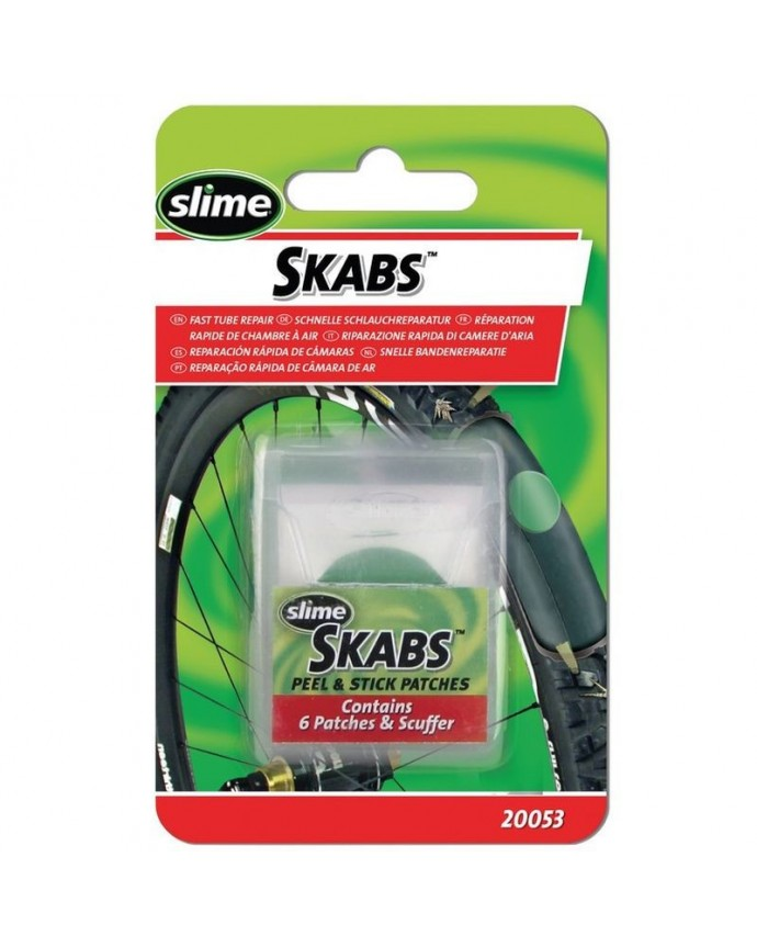 Set Patches Slime Skabs 6 Patches+Tool A