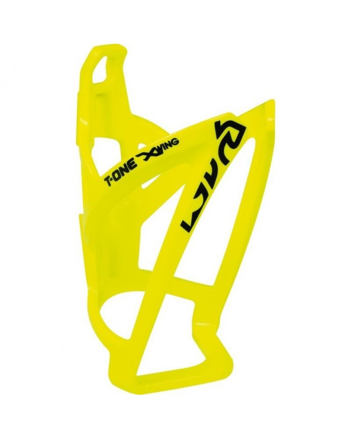 Bottle Cage T-one X-wing Reinforced Plastic Amarillo