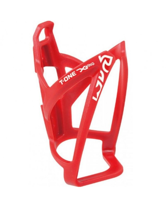 Bottle Cage T-one X-wing Reinforced Plastic Red