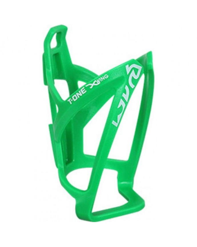 Bottle Cage T-one X-wing Reinforced Plastic Green