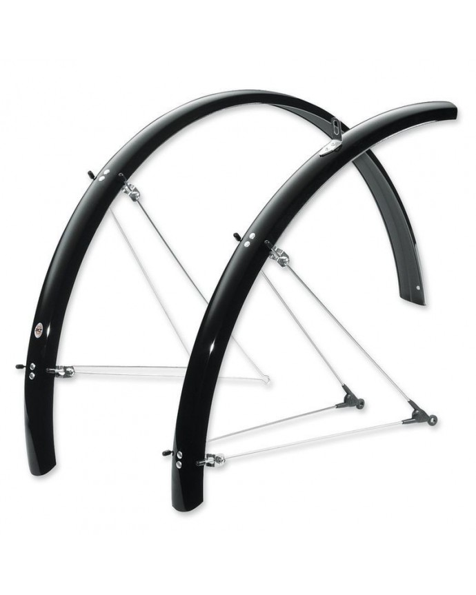 Mudguards Kit Trekking 24 Long Form SKS 53mm Silver