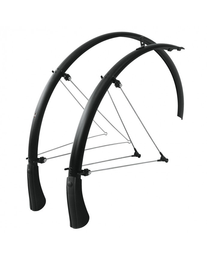 Mudguard Bluemels 28 SKS 35mm Matt Black
