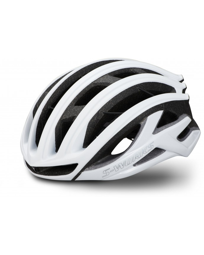 S-Works Prevail II Vent Angi Mips CE Casco Specialized Matte Gloss White/Chrome