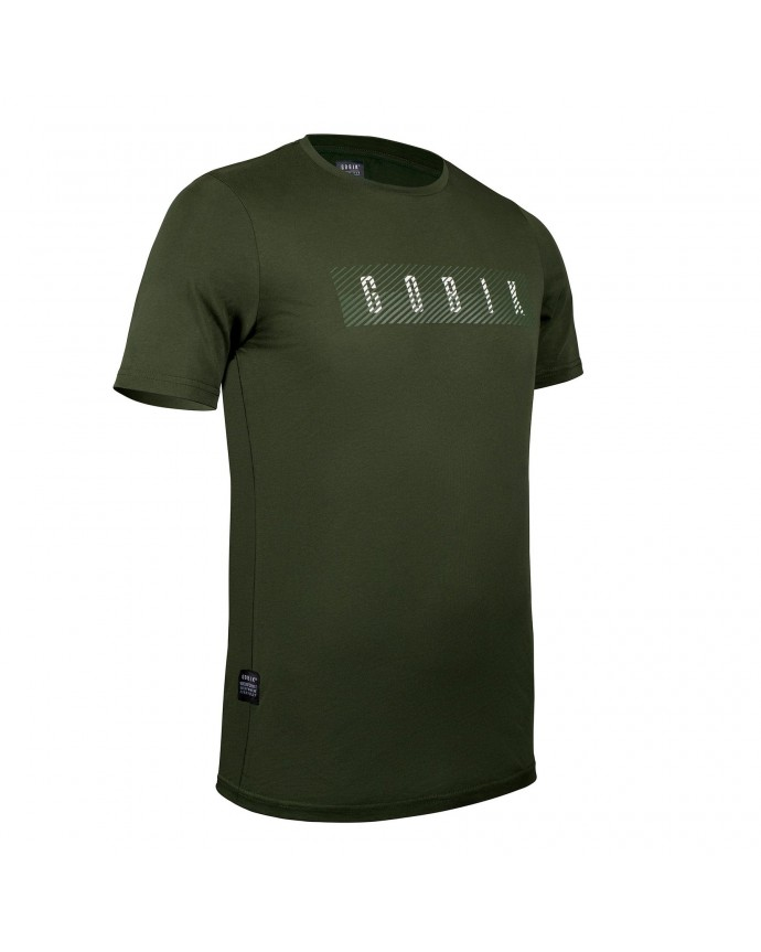 Camiseta Manga Corta Gobik Hombre After Ride Overlines Army